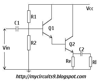 darlington amplifier circuit