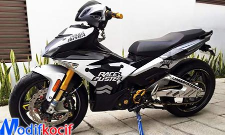 Gambar Modifikasi Yamaha Jupiter Mx King Movistar