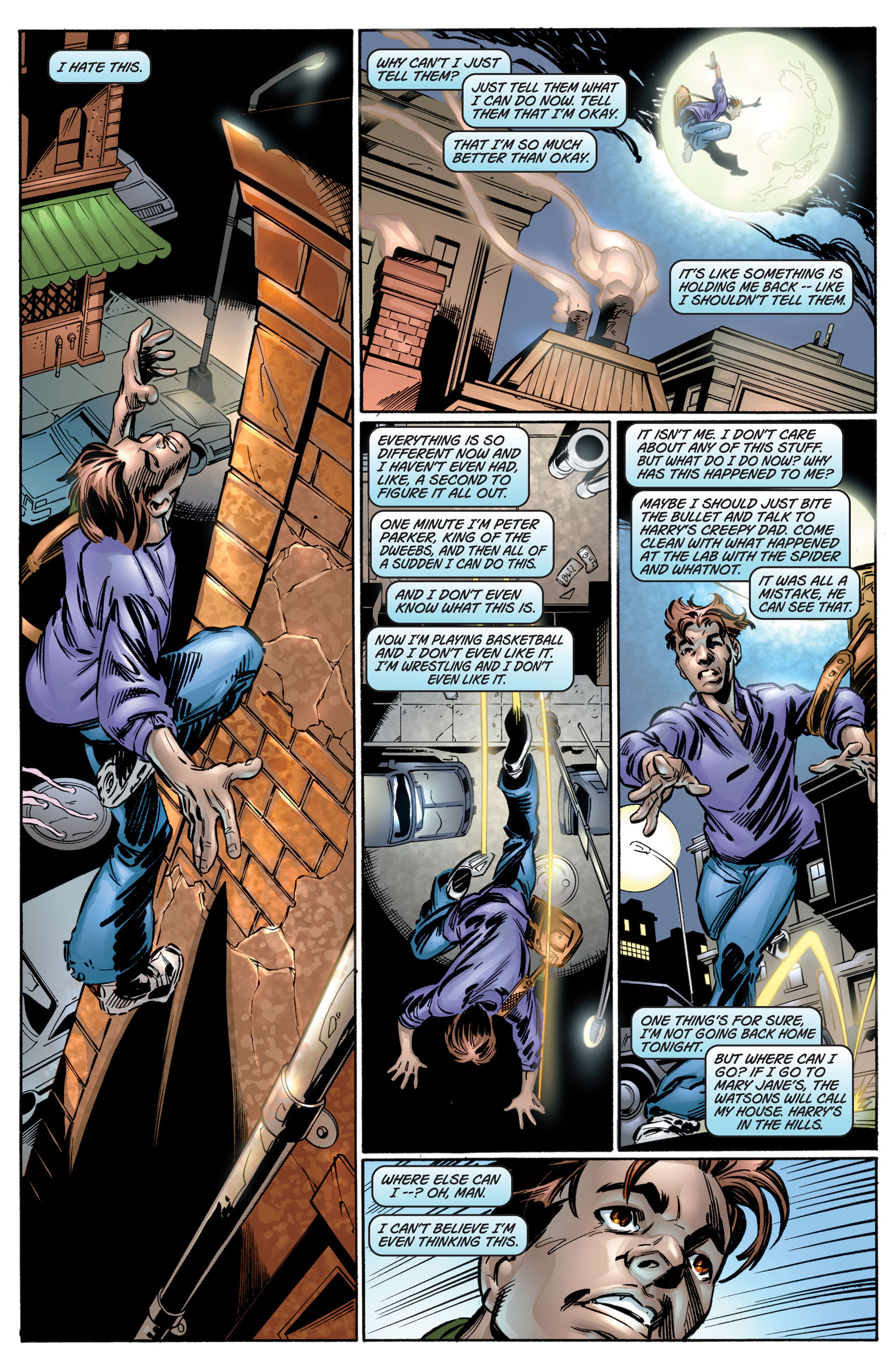 Read online Ultimate Spider-Man (2000) comic -  Issue #4 - 13