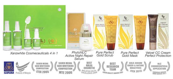 Produk kosmetik halal herba halal selamat