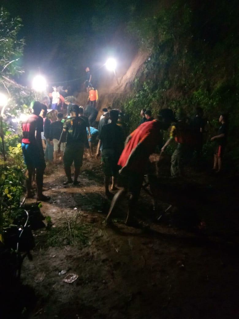 Dua Titik Longsor Terjadi Bersamaan Hari Pembentukan Pos Siaga Bencana