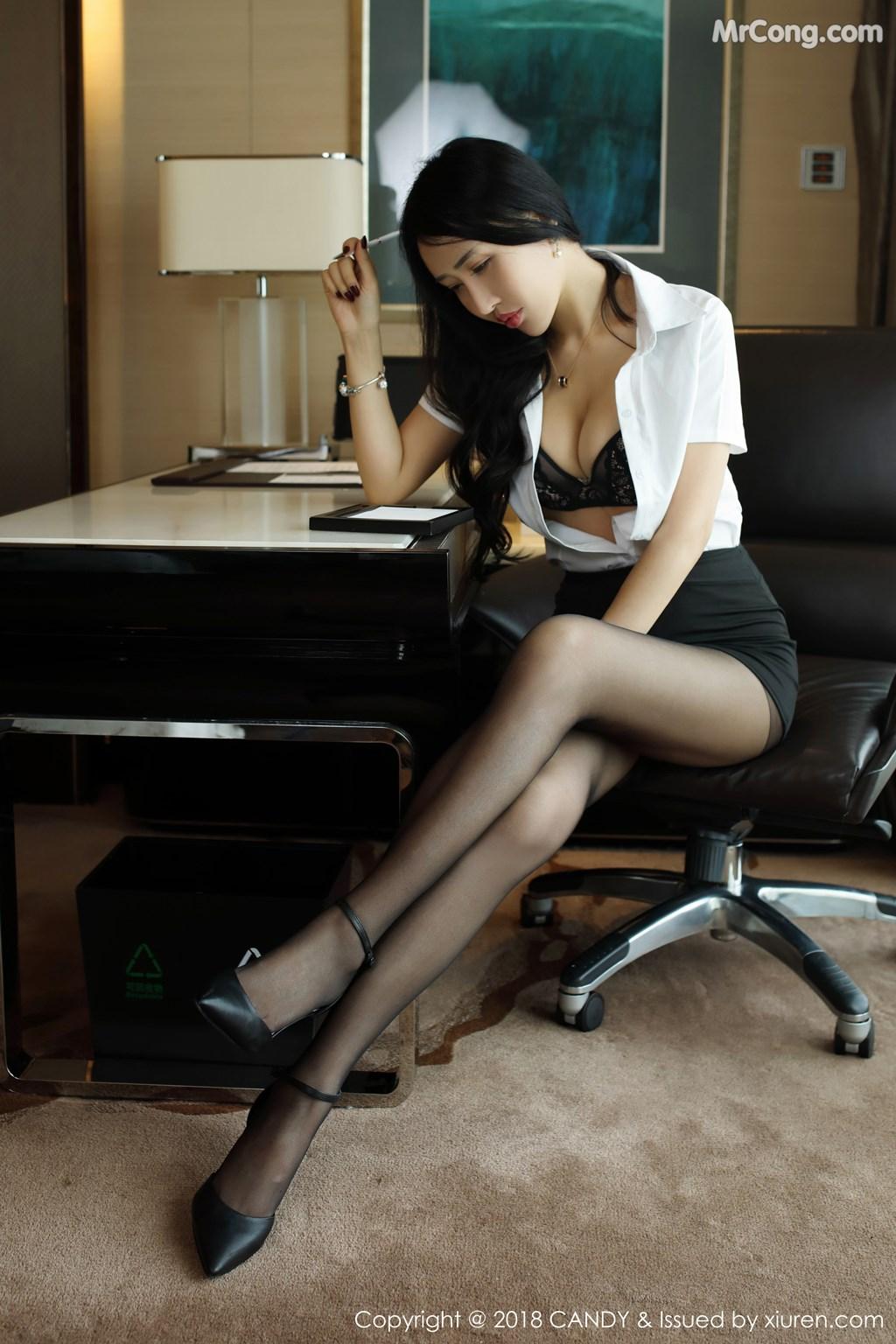 Image CANDY-Vol.063-Yu-Xi-Meng-MrCong.com-010 in post CANDY Vol.063: Người mẫu Yu Xi Meng (俞夕梦) (38 ảnh)