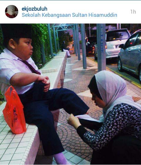 Kasih ibu tiada berpenghujung