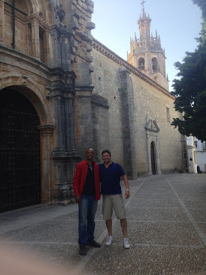 In the casco viejo (old town) of Ronda