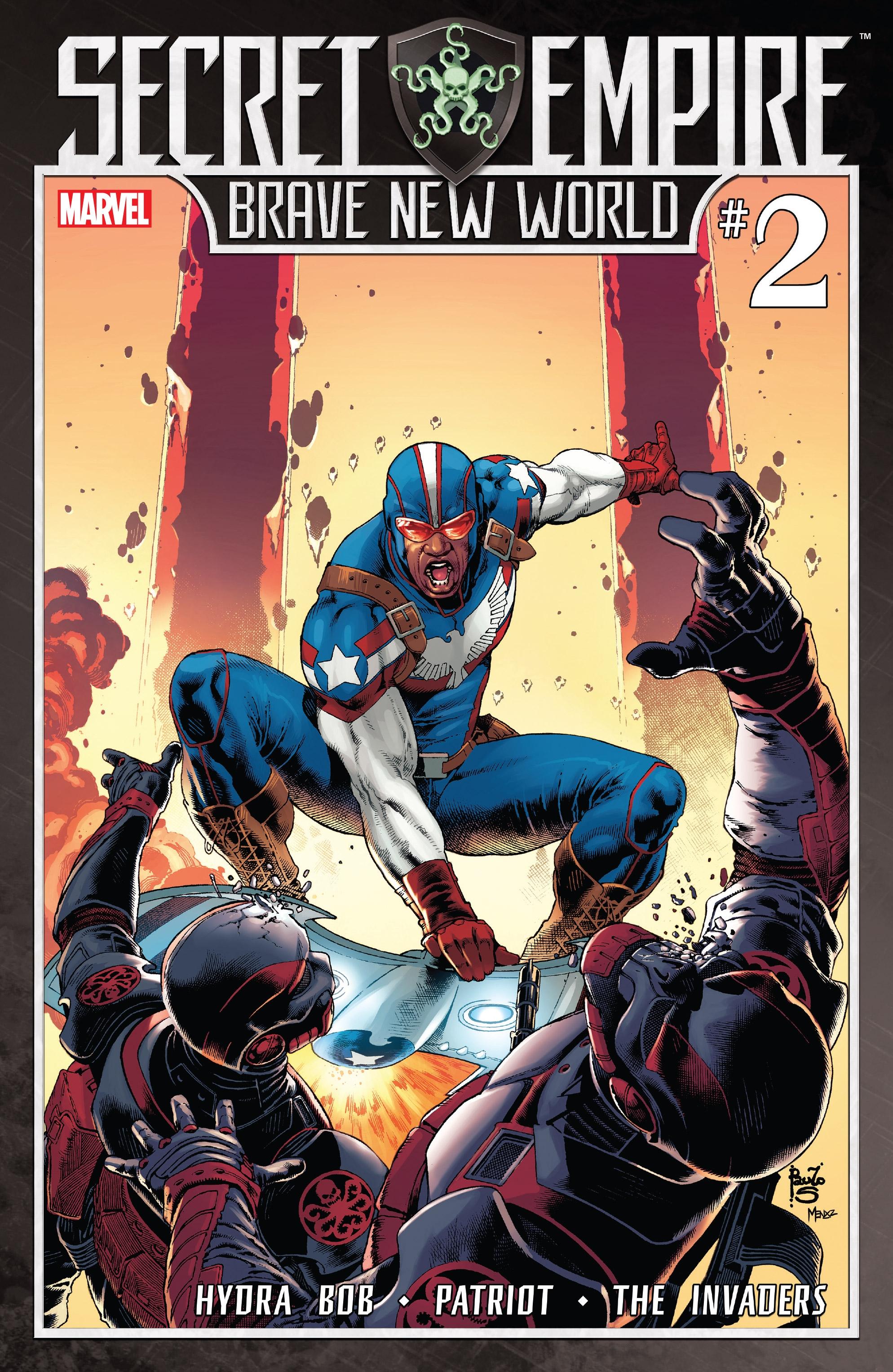 Read online Secret Empire: Brave New World comic -  Issue #2 - 1