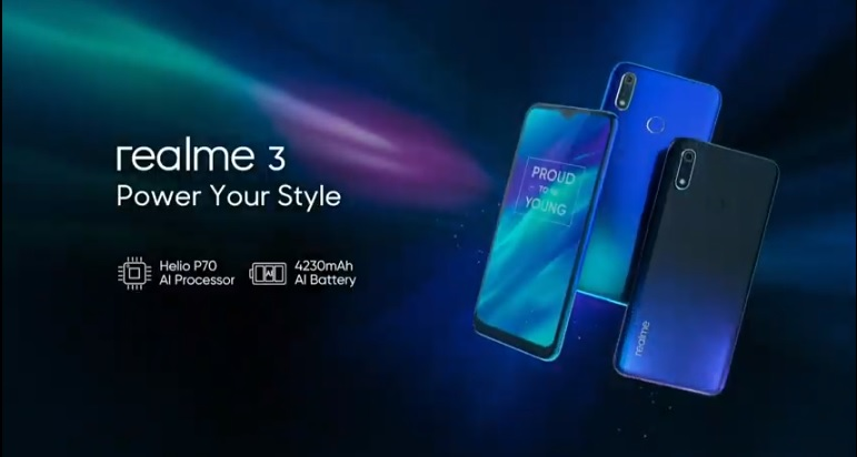 Realme 3 Now Official in India, Realme 3 Pro and Color OS 6