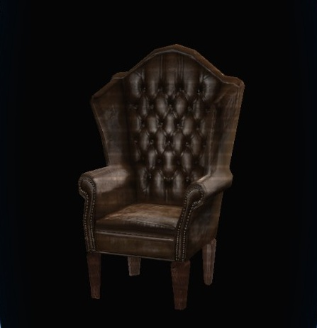 DCUO Furniture: Fancy Leather Chair