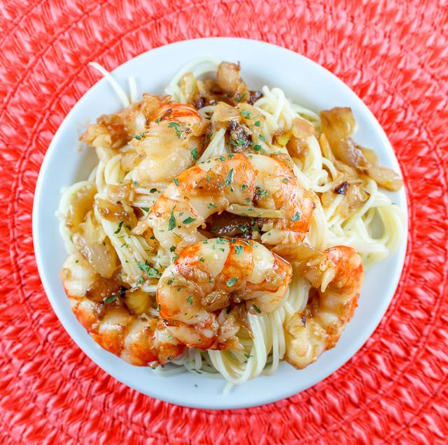 Food Hussy Recipe Copycat Olive Garden Shrimp Scampi The Food