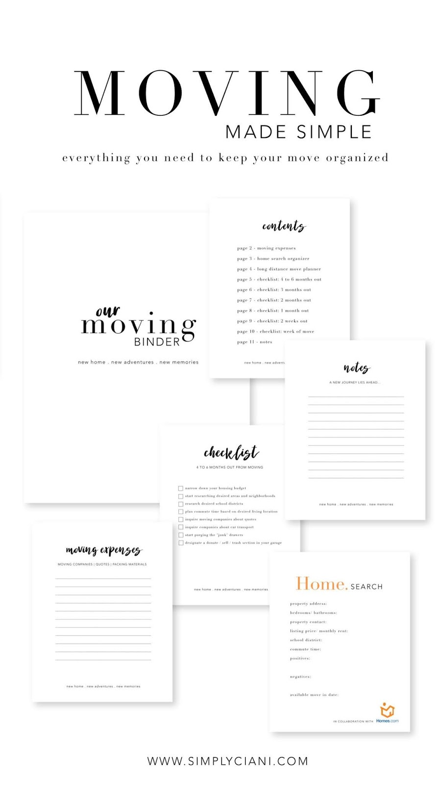 graphic about Printable Moving Out of State Checklist identify Going Generated Very simple - Totally free Transferring Printables Quickly Ciani