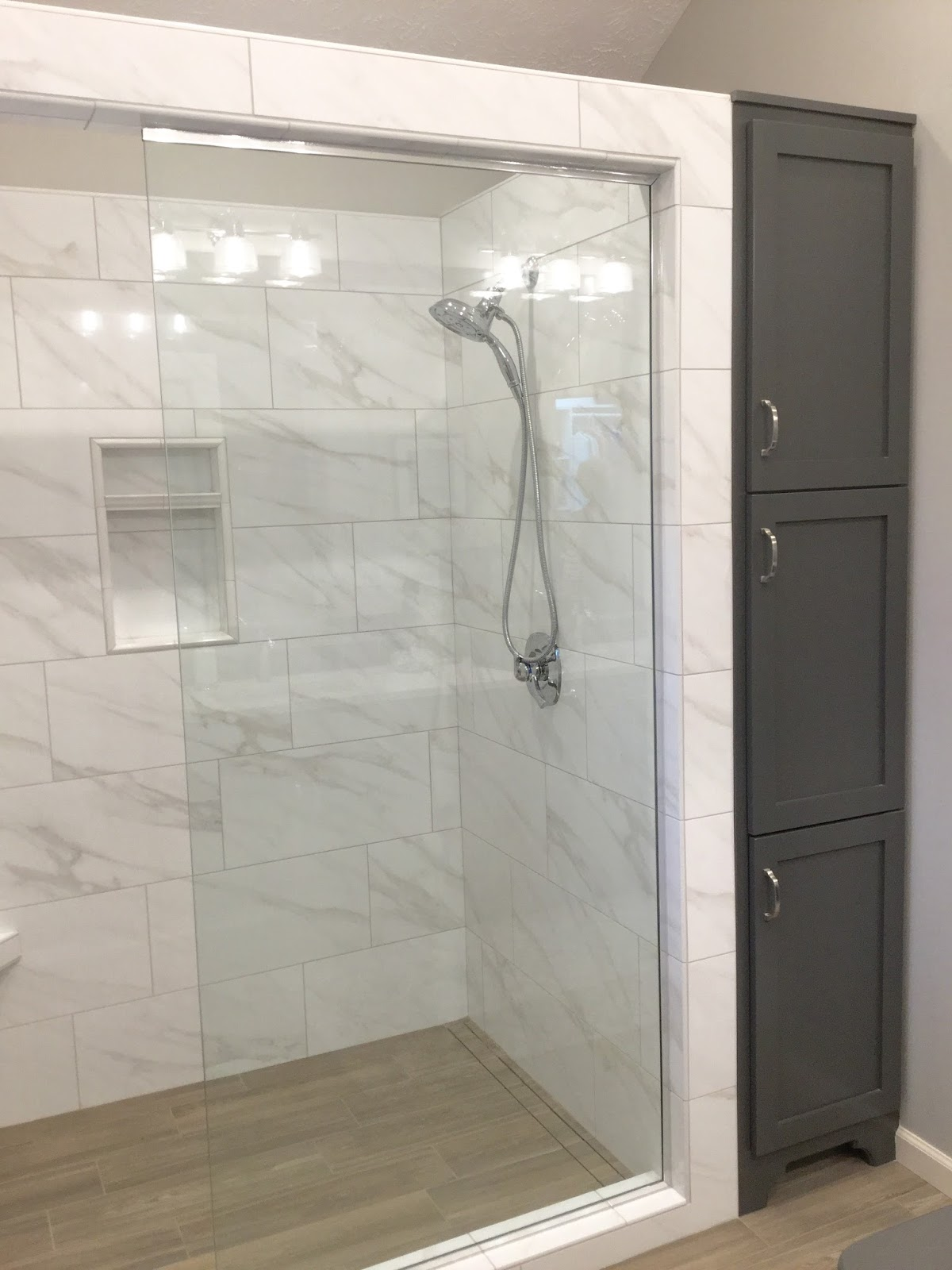Elegant Hope you enjoyed seeing this Master Bathroom en suite renovation e to life Onto the next project