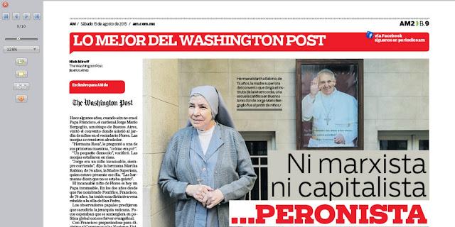 Traducción: Francisco, el Papa peronista