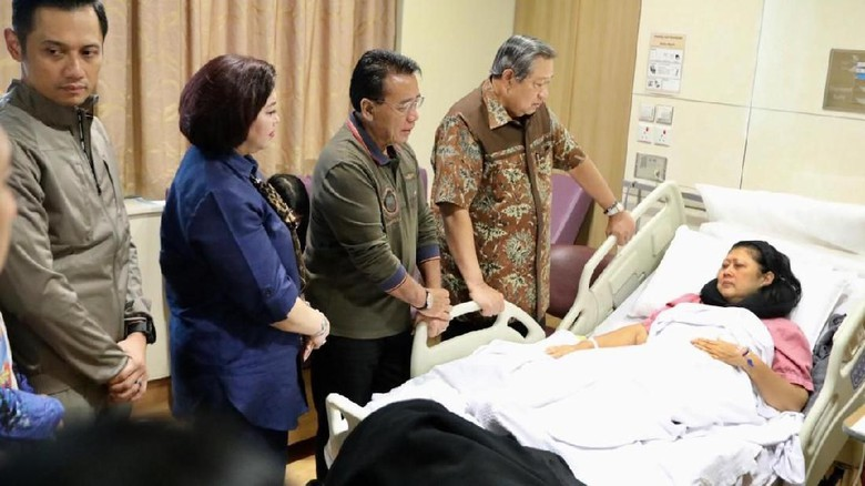 Ani SBY Kena Kanker Darah