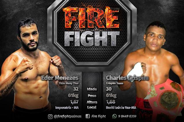 Buritiense na disputa de MMA Nacional