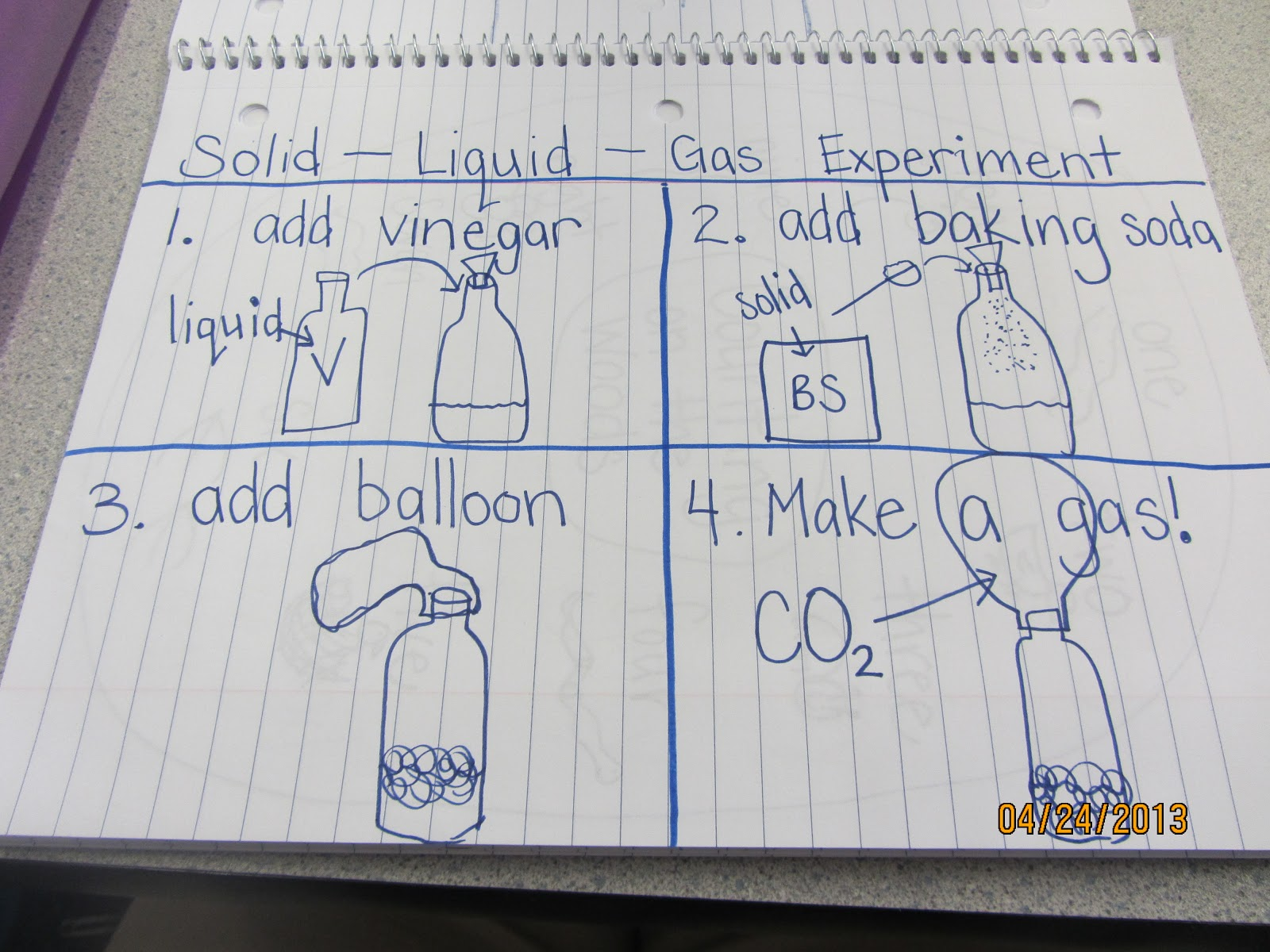 Identify Solid Liquid Gas Worksheet