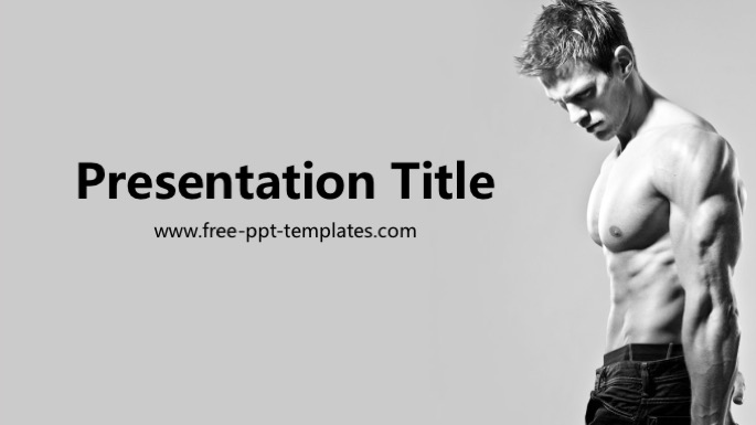 bodybuilding ppt template