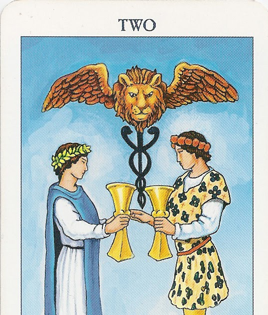2 of Cups  Soul Mates and conscious relationship