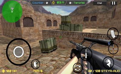 لعبة حرب العصابات Critical Strike CS مهكرة للأندرويد - تحميل مباشر