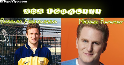 Sos Igual! Rodolfo Arruabarrena vs Michael Rapaport