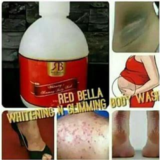 RED BELLA WHITENING N SLIMMING BODY WASH