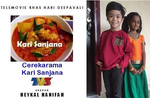 Sinopsis cerekarama Kari Sanjana TV3, pelakon dan gambar cerekarama Kari Sanjana TV3