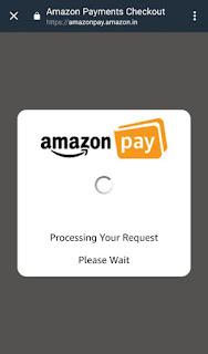 Recharge Using Amazon Pay Balance via Haptik App