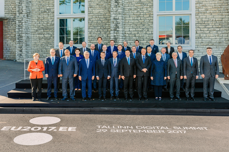 В Таллинне прошёл первый цифровой саммит ЕС
