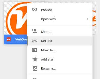 google drive how to get direct link to folder
