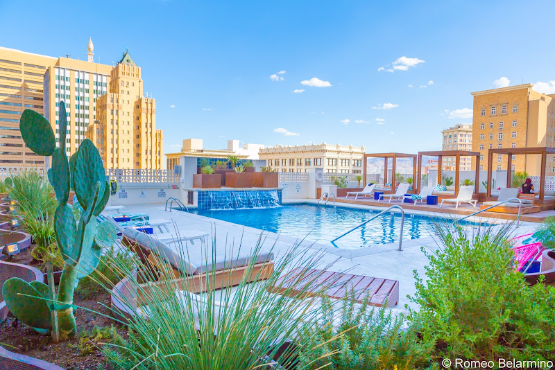 Hotel Indigo El Paso Downtown Pool El Paso Things to Do Texas Weekend Getaway