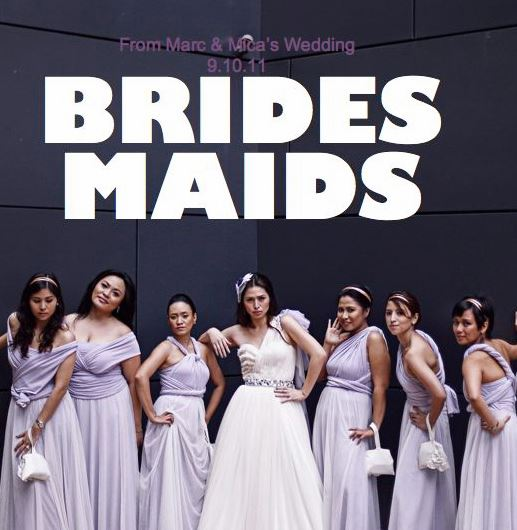 """Wedding Entourage Hairstyle: """"Style Me Pretty"""""""