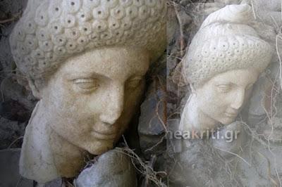 Η κακοκαιρία «ξέθαψε» αρχαιολογικό θησαυρό