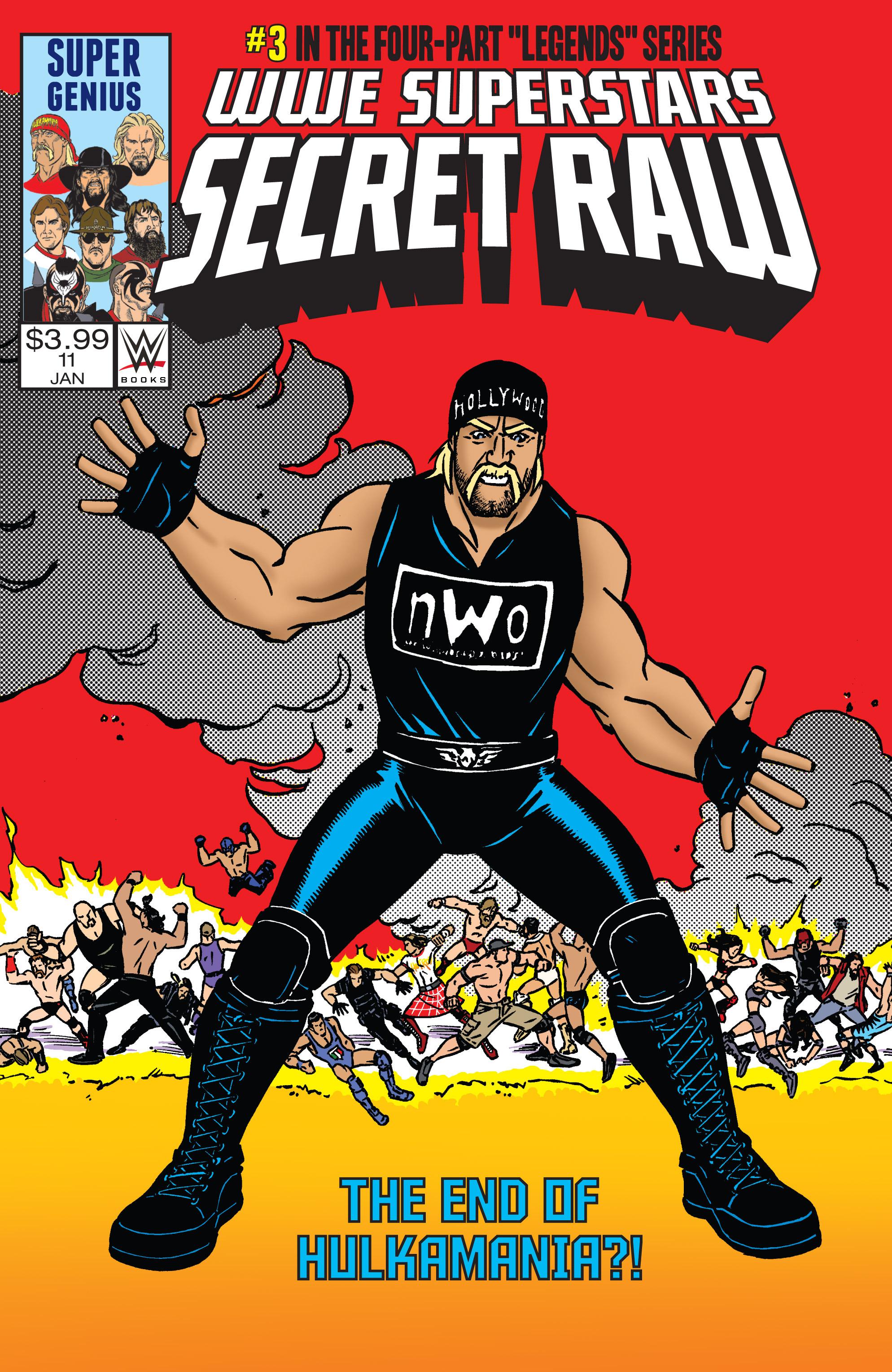 Read online WWE Superstars comic -  Issue #11 - 1