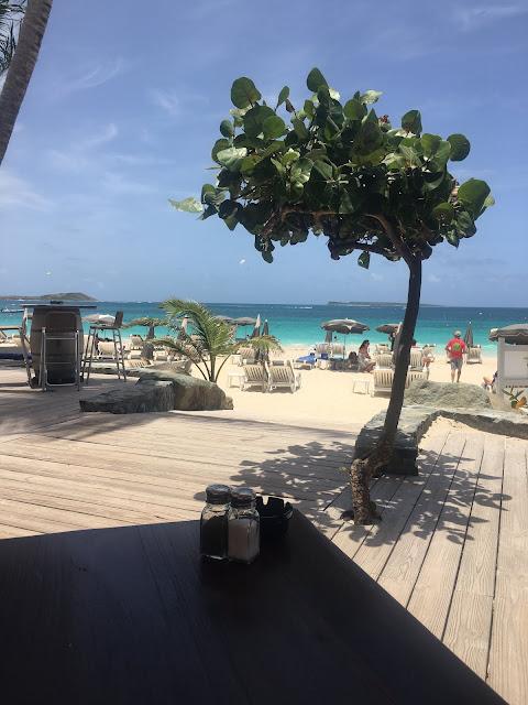 Bikini Beach Restaurant on Orient Bay Beach, St. Martin