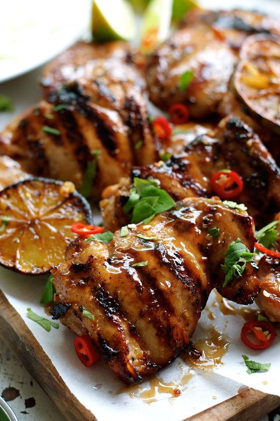 Grilled Marinated Thai Chicken (Gai Yang)