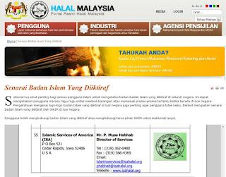 Sijil halal jakim shaklee