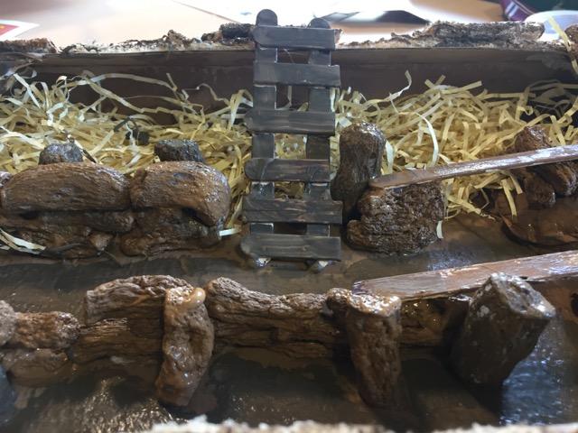World War One Trench Model