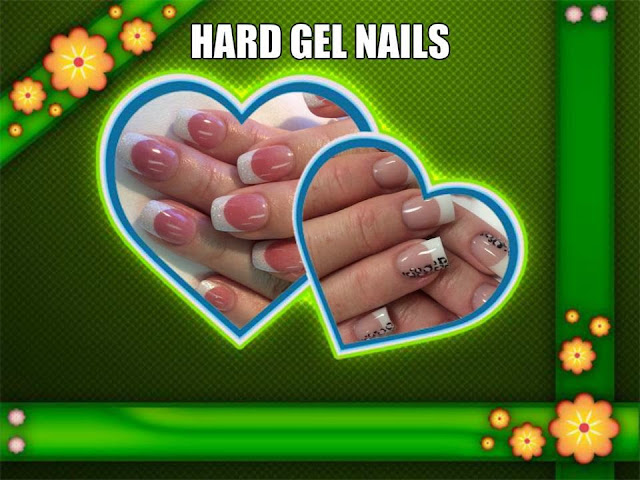 Hard Gel Nail Special $50 acrylics and Shellac paint