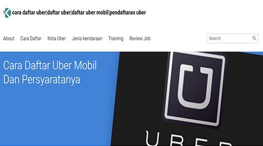 Panduan Tutorial Cara Daftar Uber Paling Lengkap