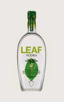 Leaf Alaskan Glacial Water