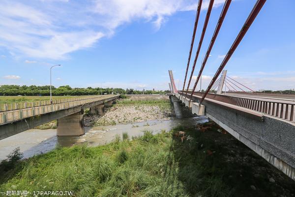 台中太平|光興隆大橋|人字自行車橋|頭汴坑溪自行車道|百年芒果樹|福到太平