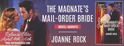 Release Blitz & Giveaway:  The Mangate's Mail-Order Bride – Joanne Rock