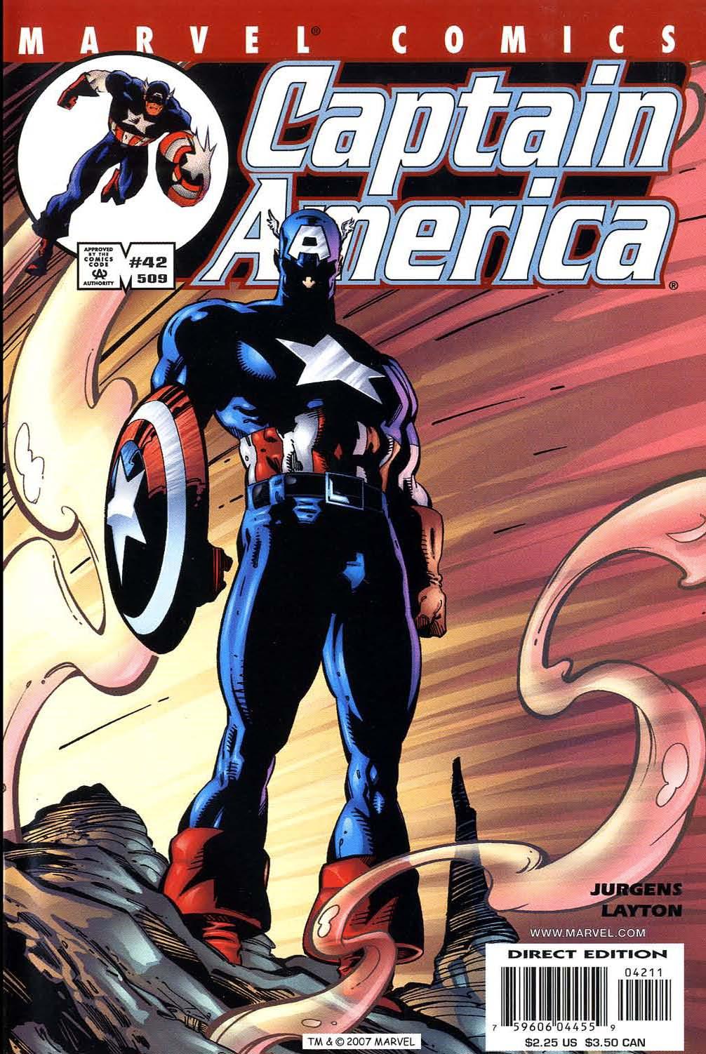 Captain America (1998) Issue #42 #49 - English 1
