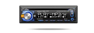 Stereo Mobil 6: Dual DC504BIM 3.7 Inch LCD CD Receiver dengan Bluetooth