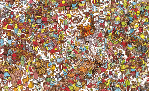 Where is Waldo, really?