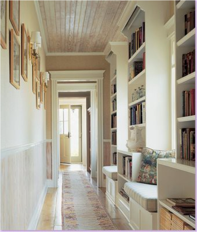 Staircase Ideas For Your Hallway That Will Really Make An: Let's Decorate Online: Creating A Relaxing Home Library