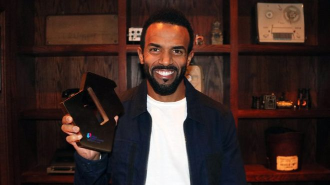 Craig David's comeback album tops chart