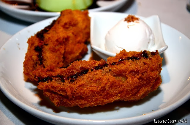 Dessert #3 Banana Fritters with Ice Cream