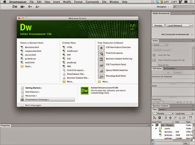 Download adobe dreamweaver cs6 latest with crack torrent for Templates for dreamweaver cs6