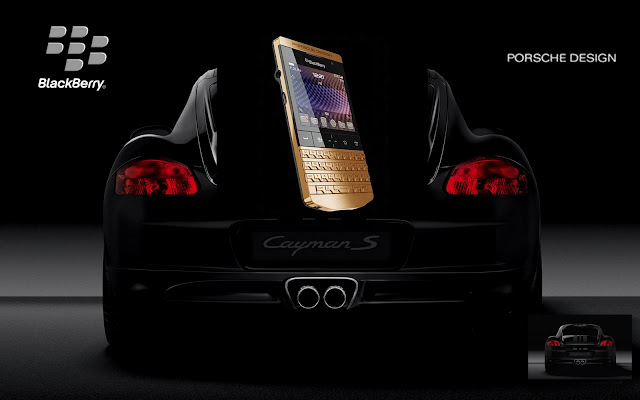 0f50e3a895 A limited edition 24-carat gold version of the Porsche Design BlackBerry  P9981 will be launching in June