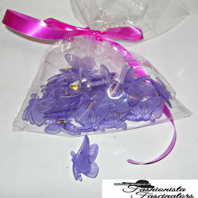 purple butterfly hair clips Nairobi Kenya