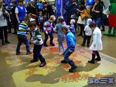 Interactive Floor Projector, interactive floor for games and events